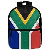 Flag Of South Africa Unisex Full 3D Printed Width Zipper Kids' Backpacks