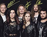 #10: Delain - Dutch Metal Band - Autographed 8x10 Photograph Hand Signed by All 6