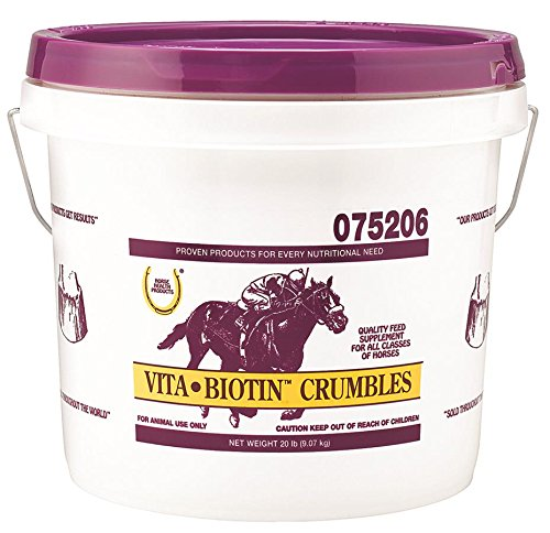 Horse Health Vita Biotin Crumbles Hoof Supplement, 20 (Vita Biotin)