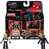Marvel Universe Mini Mates Thor and Nick Fury 2-Pack