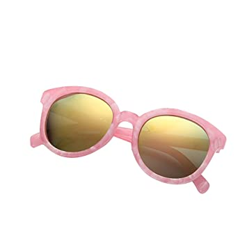 ec35aea6337 Focus Kids Plastic Polarized Sunglasses Round Resin Lens Children Sun  Glasses Boys Girls Mirror Shades UV400