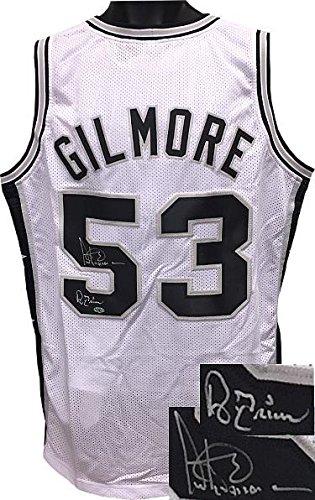 Autographed Artis Gilmore Jersey - White TB Custom Stitched A Train XL -  Autographed NBA Jerseys 8a6b55ec4