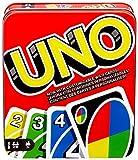 Toys : Mattel Games UNO: Classic (Tin Box) [Amazon Exclusive]