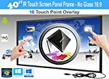 Cheap LCD / LED 10 Touch IR Overlay Touch Screen Frame Panel Interactive 40″ 16:9 – No Glass