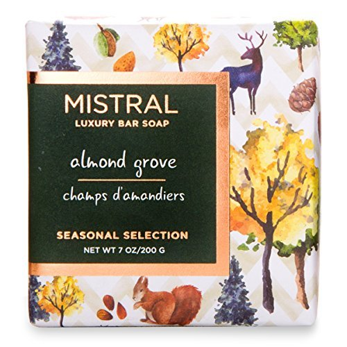 Grove Scent - Mistral Seasonal Collection 7 oz Bar Soap Almond Grove Scent by Mistral