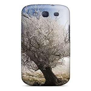 Durable Case For The Galaxy S3- Eco-friendly Retail Packaging(landscape Frozen Branches Nature)