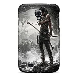 Awesome Tomb Raider Game Flip Case With Fashion Design For Galaxy S4