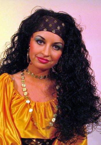Gitano-peluca, negro: Amazon.es: Belleza