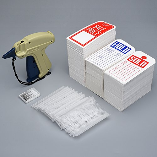 96043e7970c5 Syntrific Clothes 9S Standard Tag Gun with 1000 Piece Standard Tag Pin Easy  to Load Plus 5 Piece NZ202 Needles,Plus 1000 Pieces Price Tag Perfect for  ...