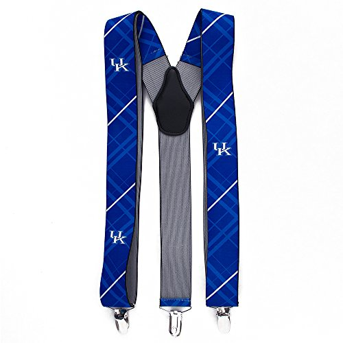 Eagles Wings EAG-8013 Kentucky Wildcats NCAA Oxford Mens Suspenders