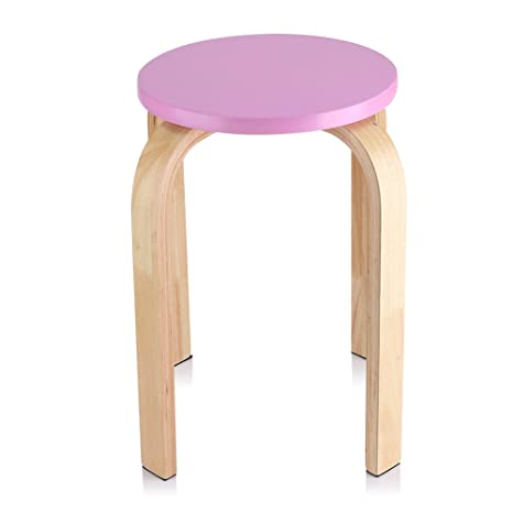 Tremendous Zerone Ikea Stool Stackable Stools Wooden Curved Colorful Caraccident5 Cool Chair Designs And Ideas Caraccident5Info