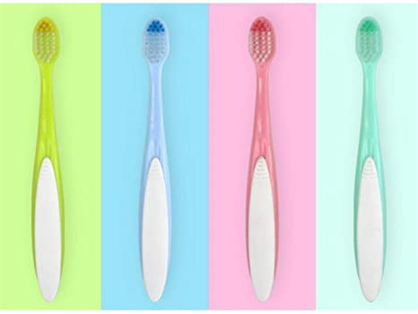 OVVO Múltiple 2 Piezas Herramienta de Limpieza Oral de Cepillo pequeño Cepillo de Dientes pequeño para