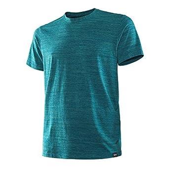 e21babf43 Saxx Underwear Men s Ultra Tri-Blend Short Sleeve Crew T-Shirt Forest  Heather Underwear