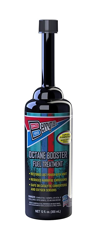 Berryman Products 1512 Octane Booster Fuel Treatment