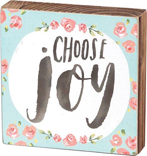 Primitives by Kathy Block Sign - Choose Joy