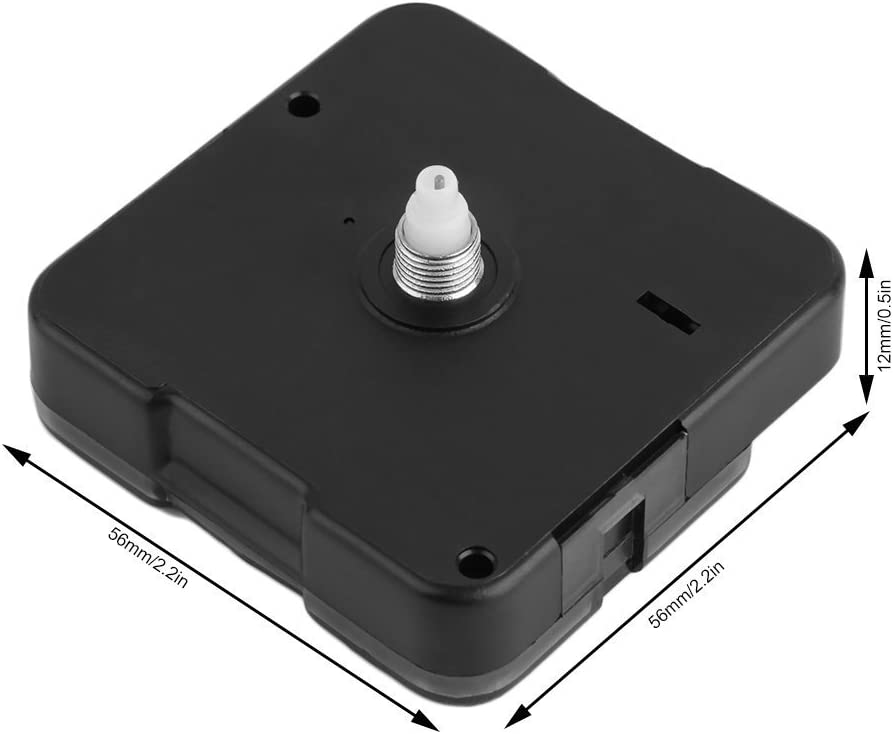 Mute Hands Quartz Clock Movement Mechanism Repair Tool Parts Kit DIY Set