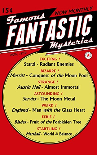 Famous Fantastic Mysteries, November 1939