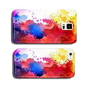 Bright watercolor stains cell phone cover case iPhone6
