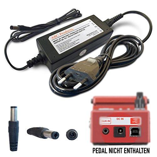 ABC Products® Ersatz Boss / Roland Netzteil Netzgerät PSU PSA-230ES, PSA-230S, PSA-240, 9V / 9 Volt / 200 Mah für Effektpedale / Pedale / Pedal (Modelle unten angegeben) 3 Meter lang