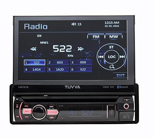 mp3 iPod iPhone AM//FM radio digital media car stereo receiver usb kenwood DMX110BT 6.8 double-din touchscreen blue key Illumination Bluetooth