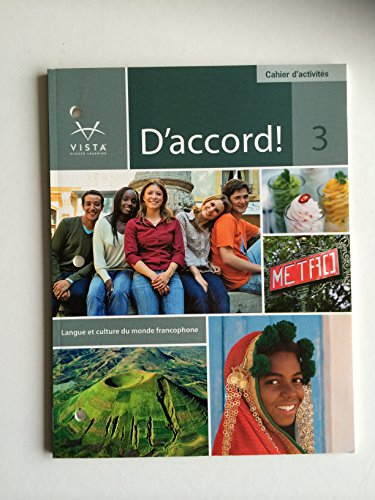 D'Accord 3 Cahier d'Activites (D'Accord 3)