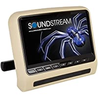Soundstream SHAD-9H Universal Headrest Mount DVD Player w/ 9 LCD & MobileLink Input