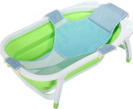 Useful Baby Kids Bathtub Mesh Seat Support Sling Net Infants Bath Tub Hammock UK