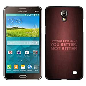 LECELL--Funda protectora / Cubierta / Piel For Samsung Galaxy Mega 2 -- BIBLIA Let Your Past Make You Better --