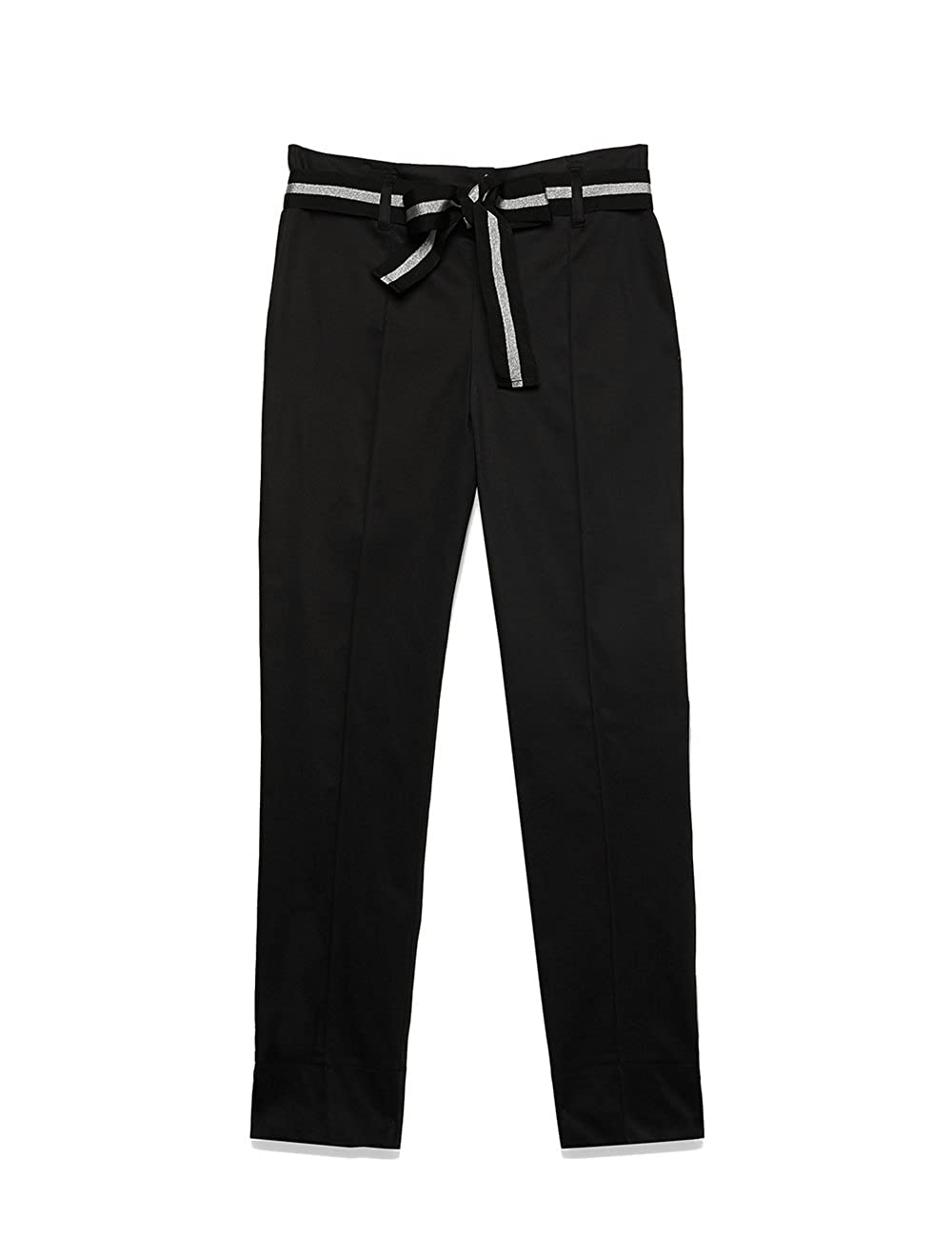 Motivi : Pantaloni alla Caviglia con Fusciacca. Made in Italy (Italian Size)