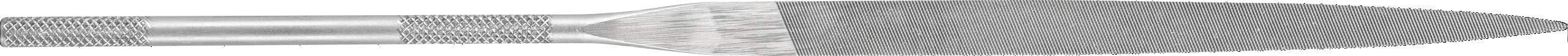 PFERD 12050 Precision Needle Flat File, Swiss Pattern, Cut 2, 5-1/2'' Length, 7/64'' Shank Diameter (Pack of 12)