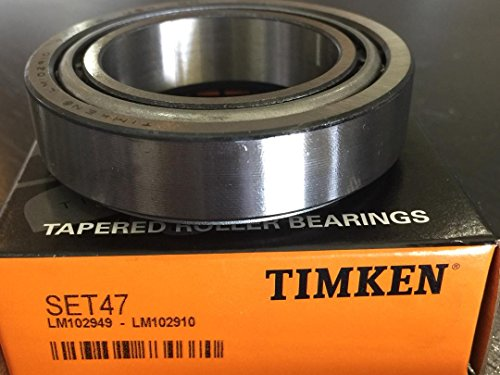 Lm102949/Lm102910 Differential Bearing Set Rear Front Inner Genuine TIMKEN (Differential Bearing Cup)
