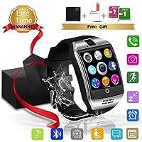 Bluetooth Touchscreen Smartwatch Waterproof Compatible Features