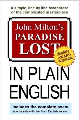 John Milton's Paradise Lost In Plain English cover