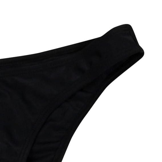 DEELIN Bikini De Flecos Atractivo Sin Espalda Estampado De Las Mujeres: Amazon.es: Ropa y accesorios