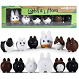 Frank Kozik Labbit with Littons Vinyl Figure by Kidrobot