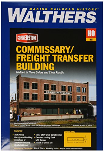 Walthers Cornerstone Series Kit HO Scale Commissary/Freight ()
