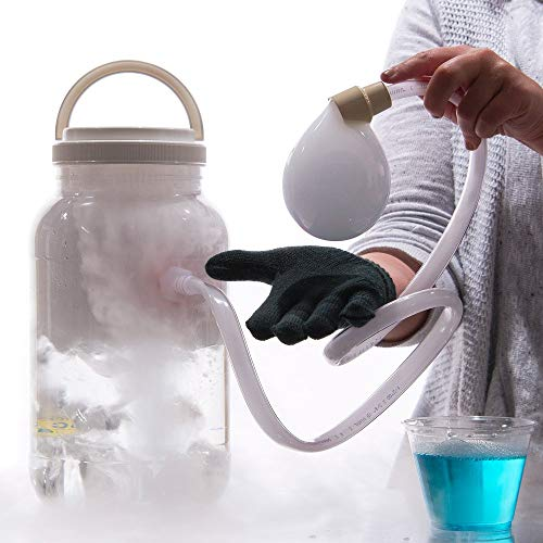 Steve Spangler's Boo Bubbles - Dry Ice Smoke Bubbles Science Experiment Kit for Kids and Classroom]()