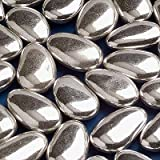 1kg box Silver sugar coated almond sweets wedding favour confectionery