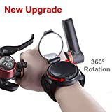 [New Updated] Bike Mirrors, 360°Rotation Portable and Adjustable Mountain Road Bicycle Cycling Wrist
