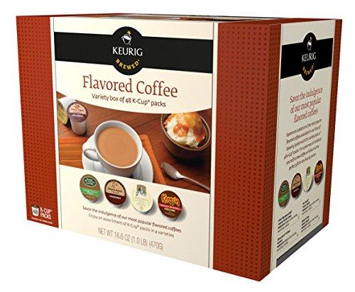 Keurig Flavored Coffee Variety Pack Keurig K-Cups, 48 Count
