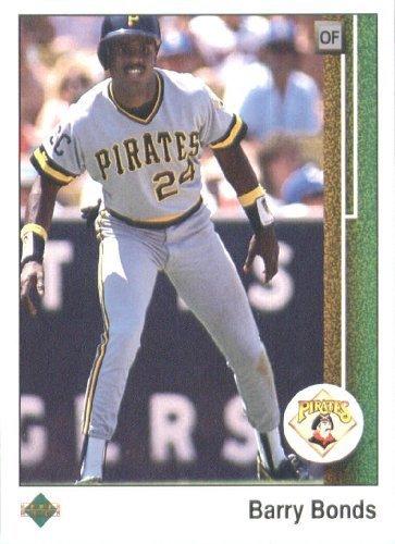 1989 Upper Deck # 440 Barry Bonds Pittsburgh Pirates - MLB Baseball Trading Card