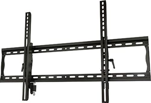 Wall Mount World – Universal Adjustable Tilt Wall Mount Bracket for Samsung UN58MU6070F 58 4K TV, fits VESA 400x400mm Hole Pattern