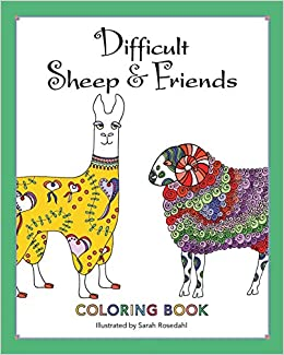 Amazon.com: Difficult Sheep & Friends: Coloring Book (9780692698808 ...