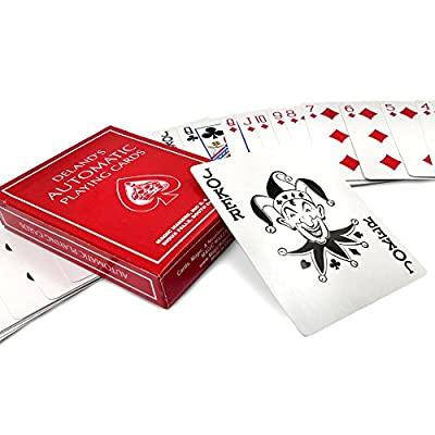 Magic Makers Royal Road to Card Magic Deluxe Magic Training - Complete Set Including a Delands Marked Deck - Over 100 Card Trick Effects from Beginner to Expert Skill Levels: Toys & Games