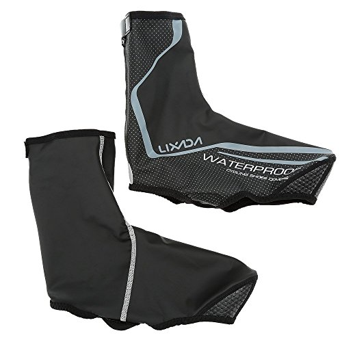Lixada Cycling Shoe Covers,Waterproof Warm Thermal MTB Mountain Bike Overshoes Winter Protector Bicycle Shoe Covers