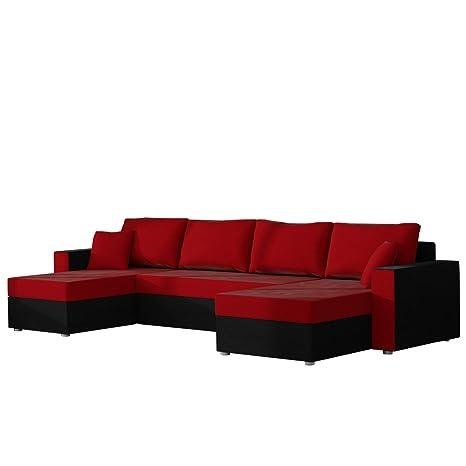 Polstermöbel mit schlaffunktion und bettkasten  Ecksofa Sofa Couchgarnitur Couch Rumba Style! Wohnlandschaft mit ...