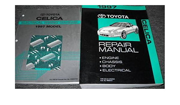 1997 TOYOTA CELICA Service Repair Shop Manual Set OEM W WIRING DIAGRAM  BOOK: Toyota: Amazon.com: Books | 1997 Toyota Celica Wiring Diagram |  | Amazon.com
