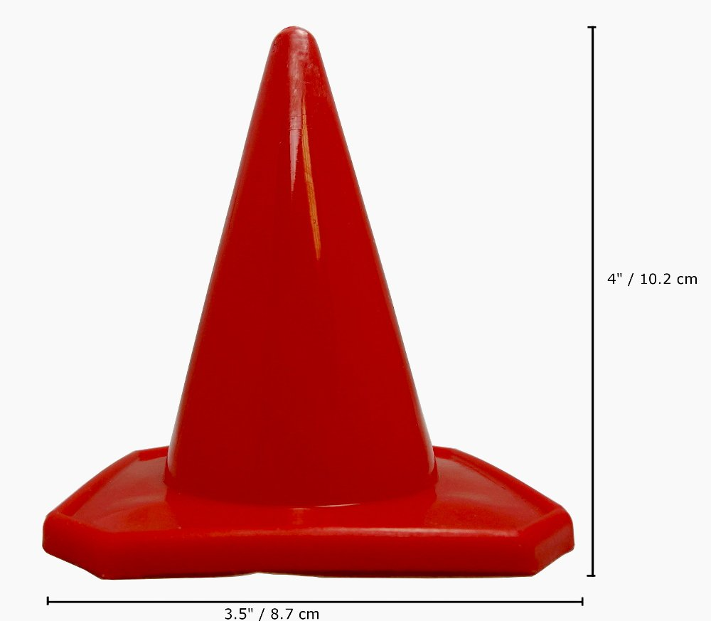 Bluedot Trading 30 Red 4 Cones Rc Fire Engines Diagram Traffic Cone Race Car Motorcycle Track Course Pack Sports Outdoors