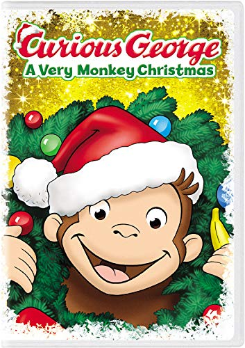 Curious George: A Very Monkey Christmas (Fallon Grey)