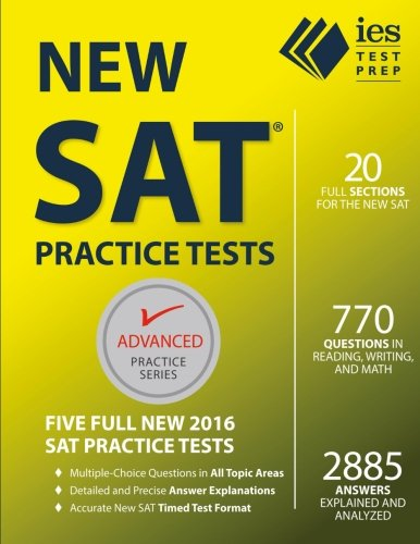New SAT Practice Tests (Advanced Practice Series)